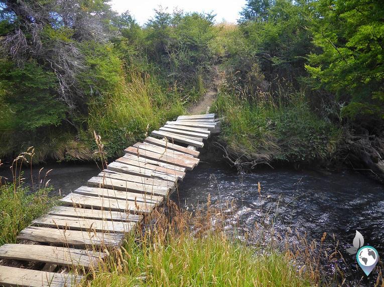 Die Brücke hat's wohl bald hinter sich!