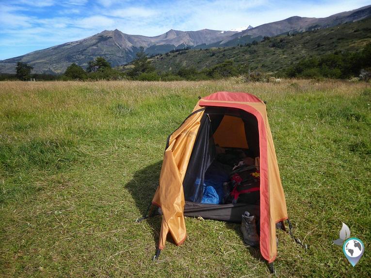 Da steht mein Zelt auf dem Feld - Camp Seron