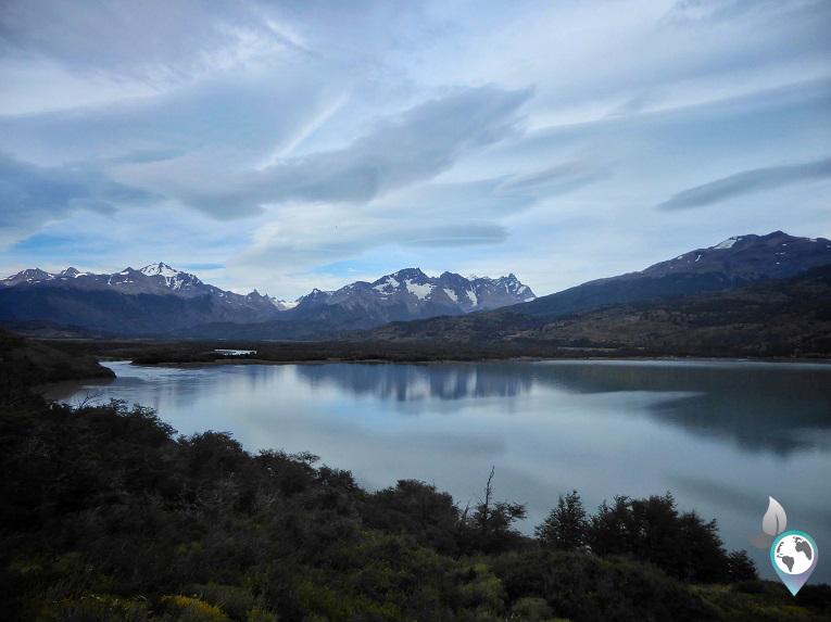 Spiegelung im See Paine