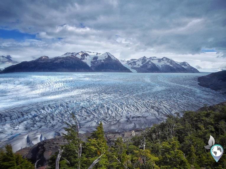 Unbeschreiblich schön - der Gletscher Grey