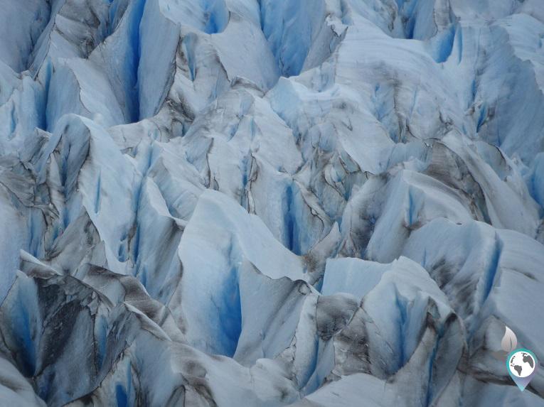 Gletschereis ganz nah!