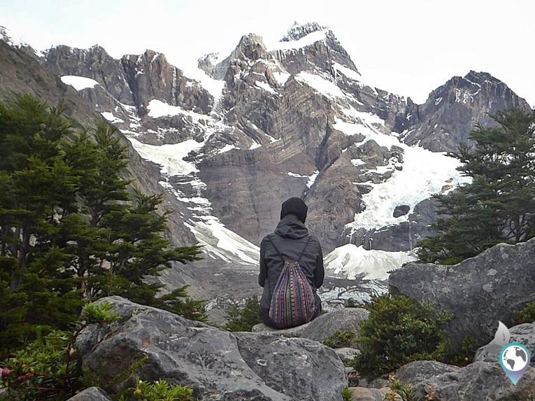 Kleine Pause im Valle Frances