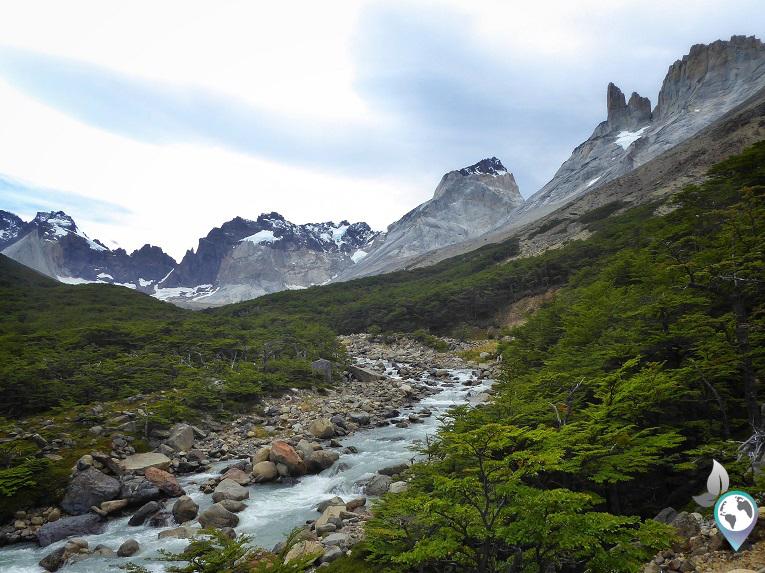 Umzingelt von Gipfeln im Valle Britanico