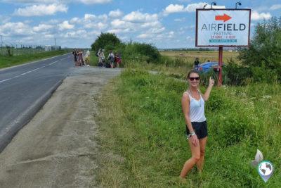 Airfield Festival in Rumänien