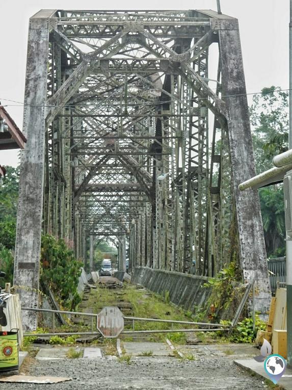 Alte Brücke von Panama nach Costa Rica
