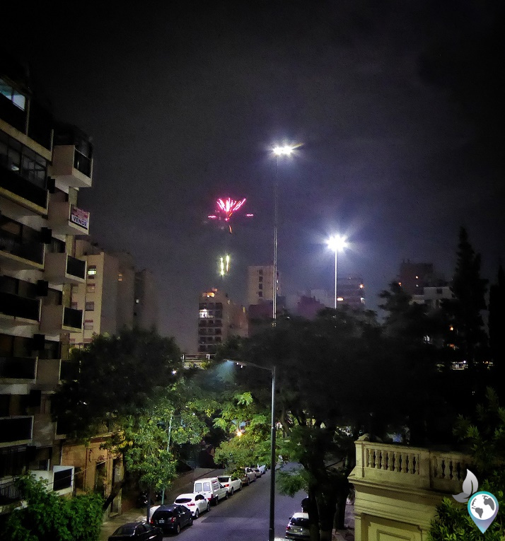 Silvester in Buenos Aires