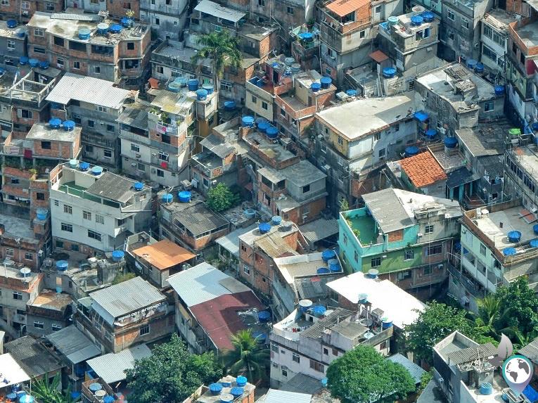 Favela Rocinha von oben