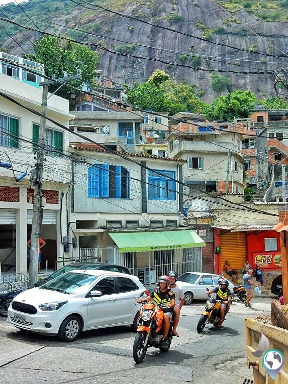 Favela Vidigal, Rio de Janeiro, Brasilien