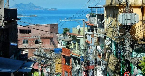 Favela Vidigal in Rio de Janeiro