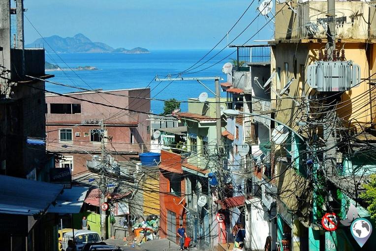 Meine Favela Vidigal in Rio de Janeiro