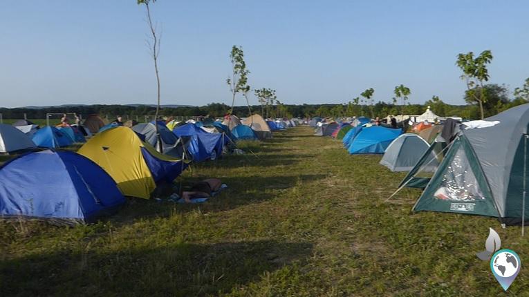 Festival in Rumänien, Sibiu, Airfield