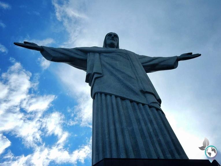Hotspots in Südamerika, Christusstatue in Rio de Janeiro, Brasilien