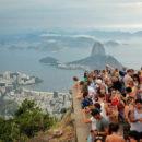 Hotspots in Südamerika - Touristenalarm an der Christusstatue in Rio de Janeiro, Brasilien