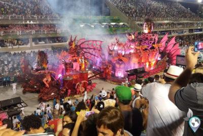 Karneval in Rio - Sambodromo