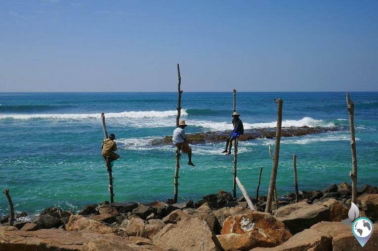 In Midigama leben viele von der Fischerei