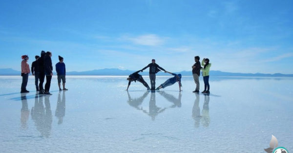 Salar de Uyuni, Bolivien, Salzwüste, Saltflats, Tour, Backpacking