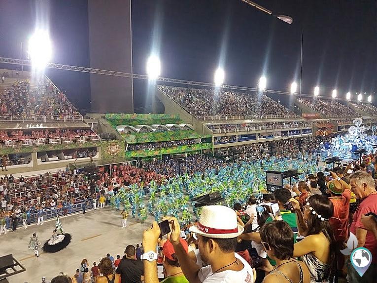 Sambodromo, Karneval in Rio de Janeiro, Brasilien