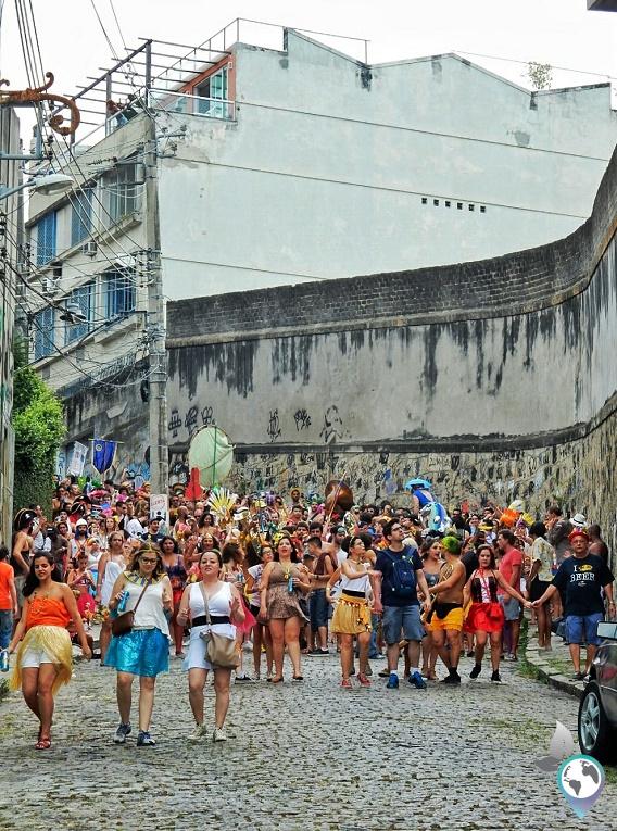 Bloco in Lapa, Karneval in Rio de Janeiro