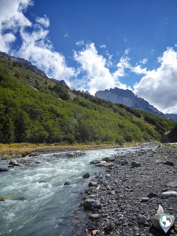 Ich komme im Torres Berg immer näher